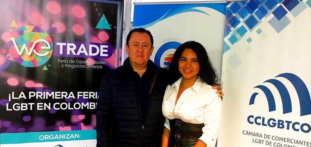 Meeting between the LGBT Chamber of Commerce and Business of Ecuador Diane Rodríguez and the Chamber of LGBT Merchants of Colombia Bogotá Camara de Comercio LGBT Ecuador y CCLGBTCO