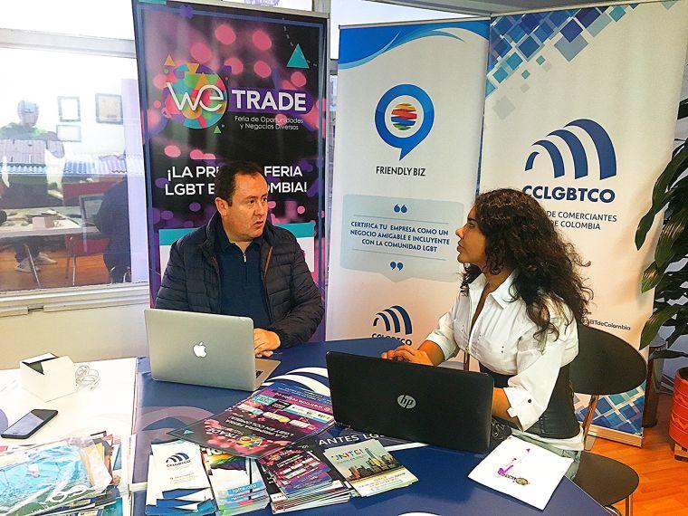 Reunión entre la Cámara de Comercio y Negocios LGBT de Ecuador y la Camara de Comerciantes LGBT de Colombia