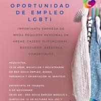 Nueva oportunidad de empleo LGBT en Quito, Ecuador