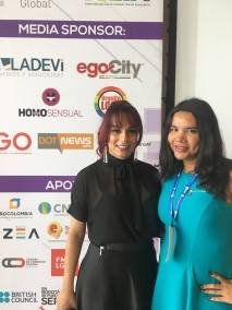 Participación de la Camara LGBT de Comercio y Turismo Ecuador en We Tride de camara de comerciantes colombia Diane Rodriguez (2)