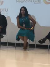 Participación de la Camara LGBT de Comercio y Turismo Ecuador en We Tride de camara de comerciantes colombia Diane Rodriguez (3)