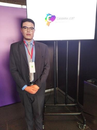 Cámara LGBT de comercio Ecuador en el We Trade Feria de oportunidades en Bogota Colombia (5)