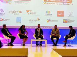 Cámara LGBT de comercio Ecuador en el We Trade Feria de oportunidades en Bogota Colombia - Diane Rodríguez Zambrano - CEO (4)