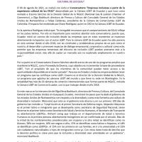 CON ÉXITO SE REALIZÓ EL CONVERSATORIO EMPRESAS INCLUSIVAS